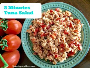 Three Minutes Tuna Salad