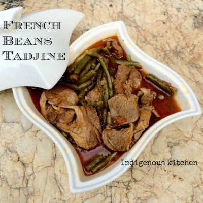French Beans Tadjine