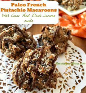 Paleo French Pistachio Macaroons