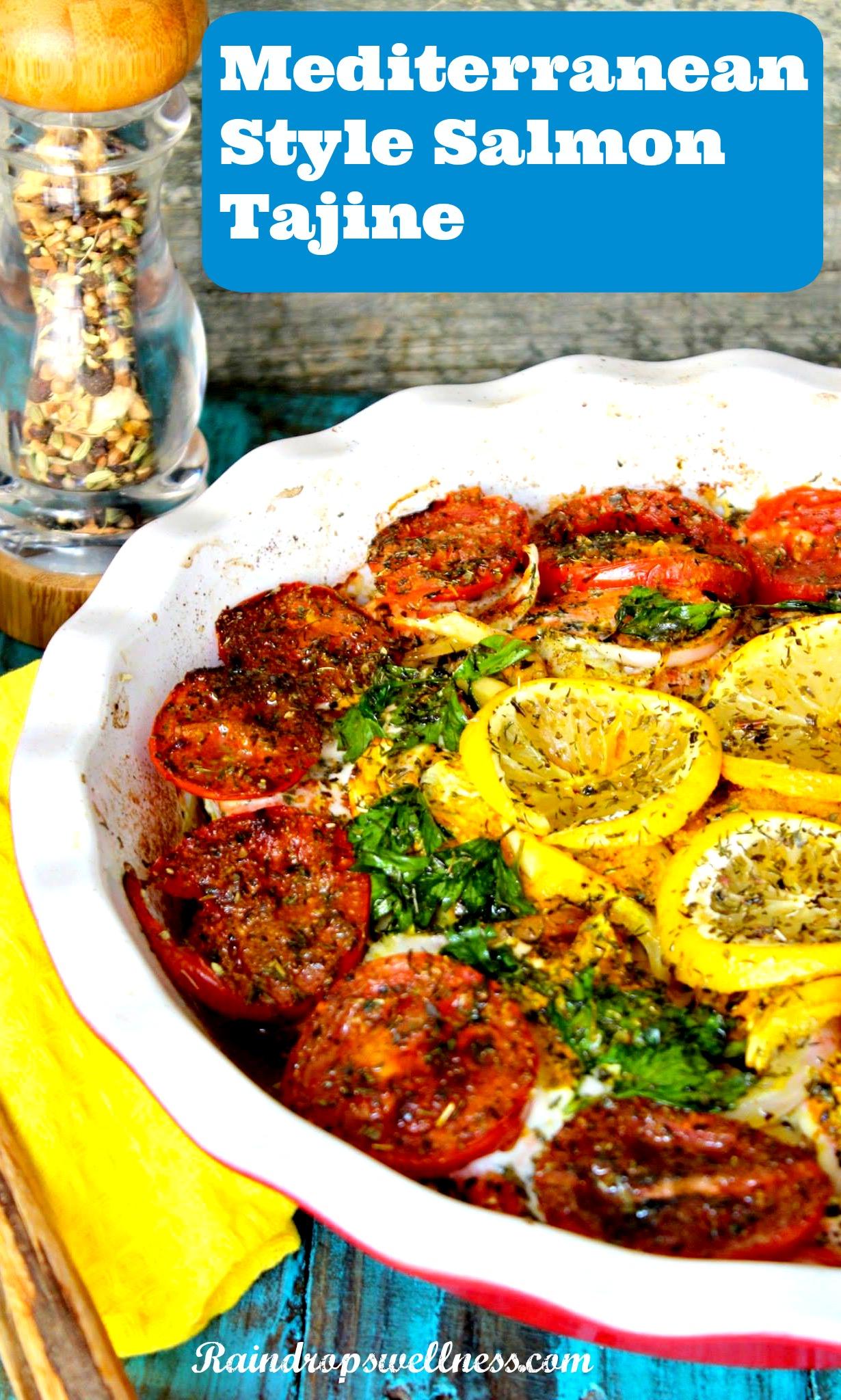 Mediterranean style salmon recipe raindrops wellness mediterranean style salmon recipe forumfinder Image collections