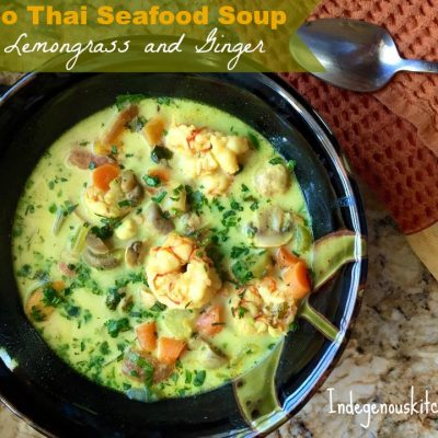 Paleo Thai Seafood Soup