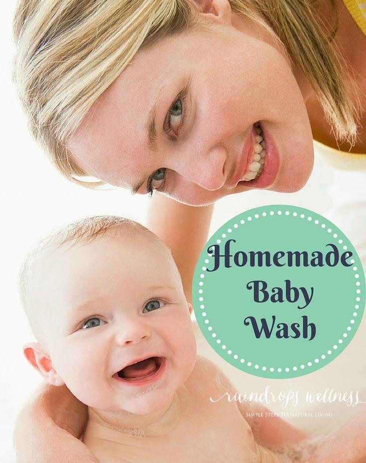 Homemade Baby Shampoo ( wash ) recipe
