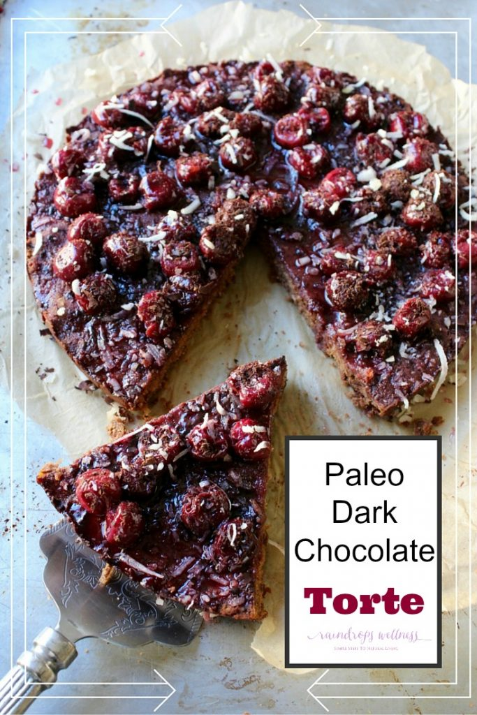 Paleo Dark Chocolate Torte