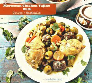 Paleo Moroccan Chicken And Meatballs Tajine