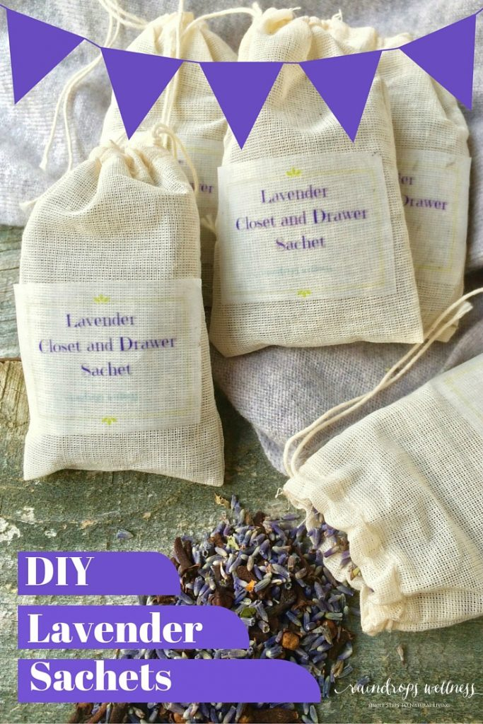 DIY Lavender Drawer Sachets