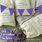 Homemade Scented Drawer Sachet