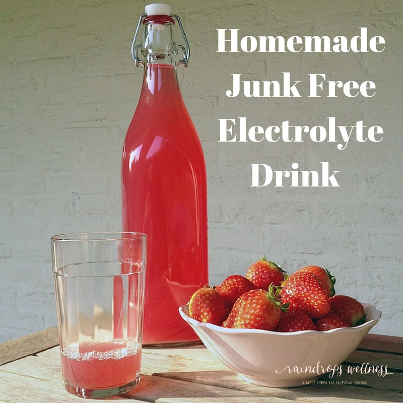 Homemade Junk Free Electrolyte Drink