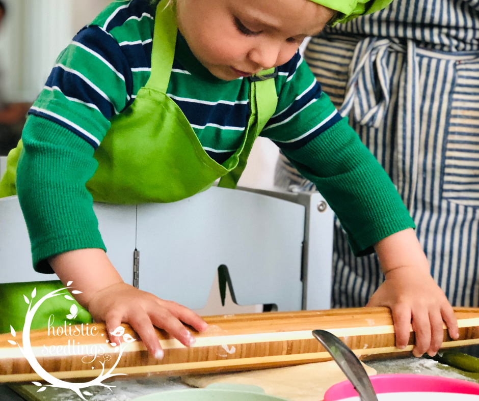 kids love cooking